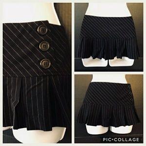 Pinstriped Skirt M